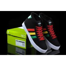Кроссовки Adidas Neo Bbneo утепленные ямайка